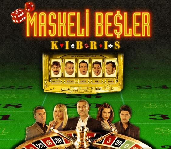 Türk Filmi 'Maskeli Beşler: Kıbrıs'